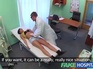 FakeHospital - Foreign patient with no health