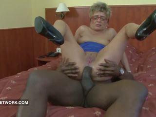 Babi zasačeni mastrubacija analno zajebal s velika črno tič