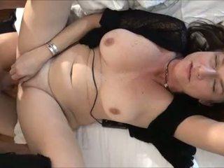 tits, brunette, cougar