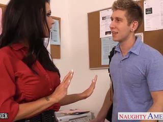 Tettona sesso insegnante jessica jaymes cazzo in classe