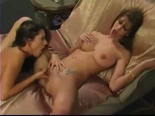 echt lesbisch, pornosterren scène