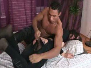 brunette porno, doggystyle video-, een kindje