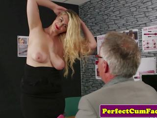 Busty British Babe Cocksucking until Facial: Free Porn a3