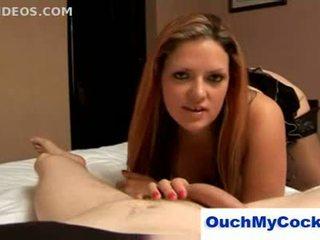 Rebecca ryder swears पर unlucky boyfriend और gives इसे एक co