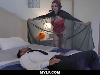 MYLF - Sexy Vampire Sucks Dick
