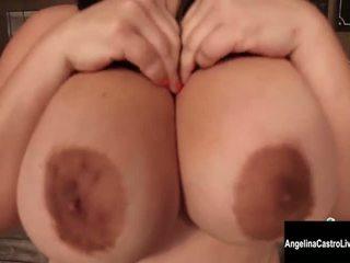 më zeshkane i madh, nominal big boobs më, më i mirë masturbohem të gjithë
