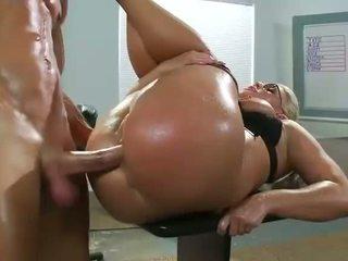 Slutty milf Sadie Swede banged in the ass
