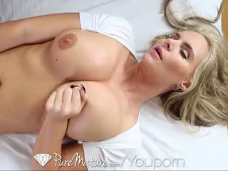 HD - PureMature Phoenix Marie welcomes her man with wet pussy