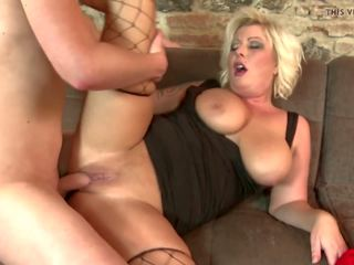 Mature Blond Mom Having Sex with Son, HD Porn b3