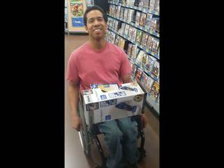 Drake Look Alike Poor Guy in Wheel Chair who Looks Like
