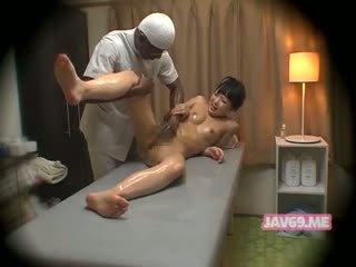 Χαριτωμένο Καυτά κορεατικό κορίτσι γαμήσι