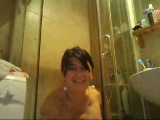 Hot milf shower