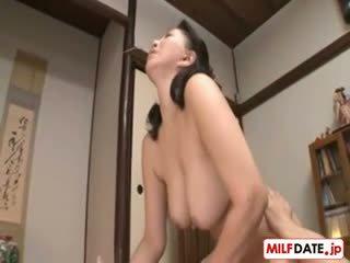 japán, nagy mellek, kemény, milf