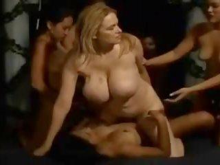MILF Maria Lesbian Strapon Gangbang, Free Porn c6