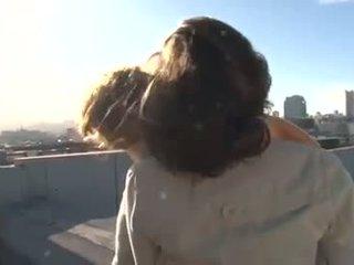 brunette, een orale seks klem, ideaal tieners film