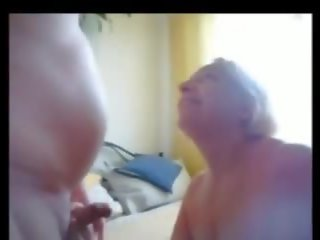 Granny Sucking Many Strangers Cocks for Cum: Free Porn 7a
