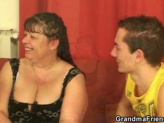 mmf, grandma, fat