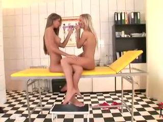 een speelgoed mooi, controleren lesbisch