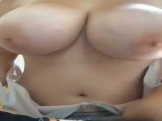 Big Titty Amateur Showing off Huge Boobs, Porn 36