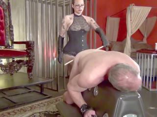 mooi femdom vid, spanking klem, echt whipping porno