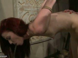 高級な ミストレス punishing セクシー 赤毛