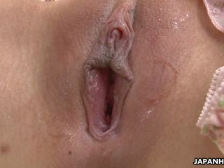 Adorable Asian Babe Toy Fucking Her Soaking Wet Cunt...