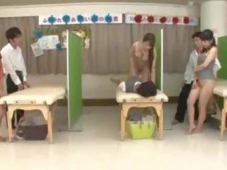 pijpen, japanse scène, plezier vingerzetting tube