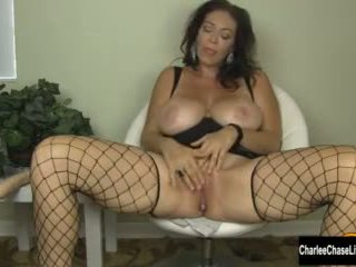 Big Tit Milf Charlee Chase Stuffs Her Pussy