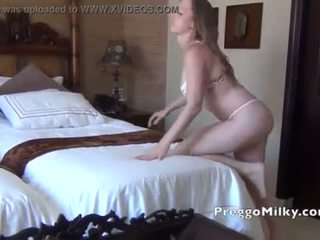 Lactation and squirting nipples at the hotel room <span class=duration>- 57 sec</span>