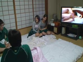 brunette clip, more japanese, kissing