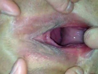 zwanger klem, kwaliteit cumshot thumbnail, amateur mov