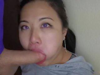 mooi deepthroat gepost, alle slordig porno, facefuck kanaal