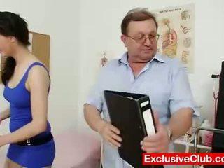 hq gapende thumbnail, vagina, dokter film