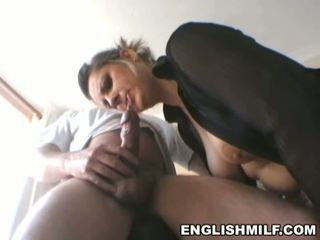 oral sex, big butt, milf blowjob action