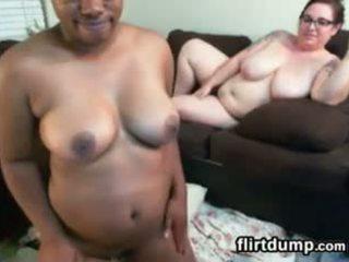 Fat Lesbians porn