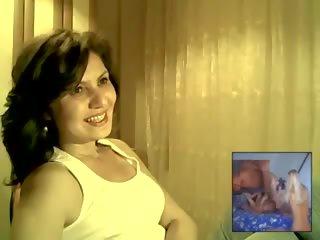 Turkish MILF Watches Porn & Flashes, Free Porn 80