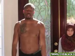 Nadia Fucks With Her Black Neighbor With A Monster Cock