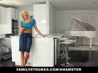 Familystrokes - Hot Teen Fucks Her Step-cousin in...