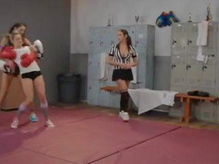 Lesbian Fight Club: Lesbian Club Porn Video 64