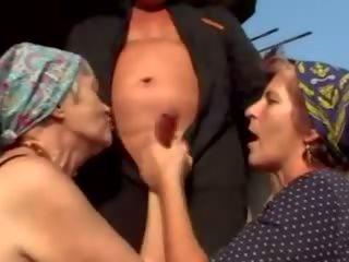 grannies, matures, ওল্ড + ইয়াং, facials