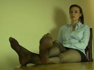 Sexy Nylon Feet and Legs