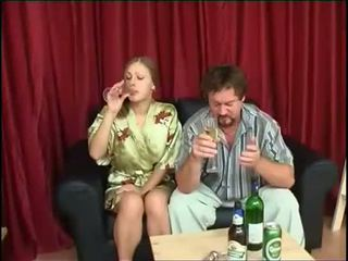 drinking, daughter, fucks, after