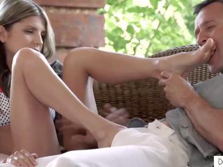 pijpen, ideaal voet fetish kanaal, gratis russisch video-