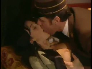 Italian Rich Glamorous Wife Being Fucked By Perverted Train Conductor!