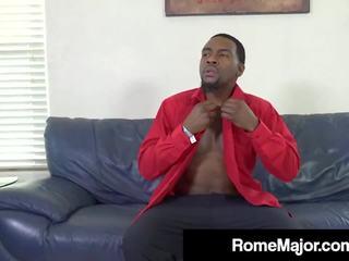 Ebony Church Fuck Flick Rome Major Fucks MILF Brandi...