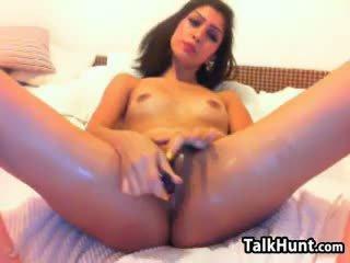 zien brunette kanaal, vers speelgoed gepost, controleren webcam seks
