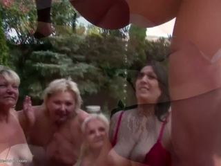 Insane Group Sex with Mature Moms and Pissing: Free Porn d4