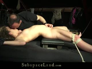 """Teeny girl tied up on the bad and fucked <span class=""""duration"""">- 6 min</span>"""