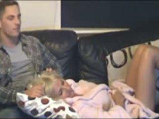Mor och son fångad av gömd cammera