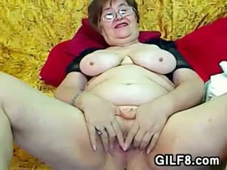 Fat grand mother sex